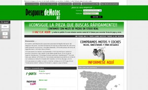 desguacesdemotos.net